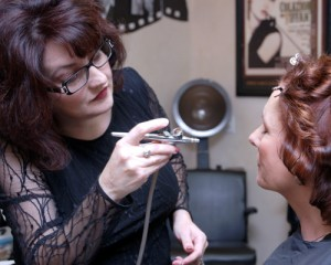 airbrushed makeup for weddings, the bridal party, proms, special events by Maureen Martinez, salon professional hairstylist in Ventura County