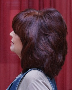 red hair color by Maureen Martinez, salon professional hairstylist in Ventura County