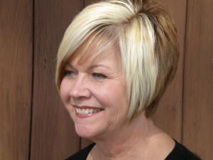 blonde, brown hair color by Maureen Martinez, salon professional hairstylist in Ventura County